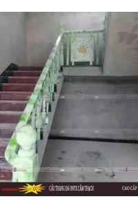Cầu thang đá  onyx nhân tạo demo 7