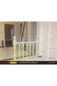 Cầu thang đá onyx nhân tạo demo 12