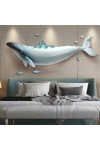 Cá voi đại dương 3d bộ 1 con