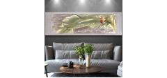 Tranh 3d phù điêu tinh hoa việt nam - Hoa chuối
