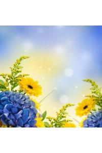 Tranh gạch 3D hoa H07