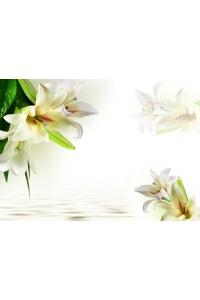 Tranh gạch 3D hoa H08