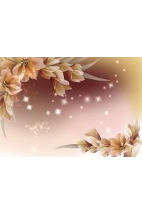 Tranh gạch 3D hoa H124