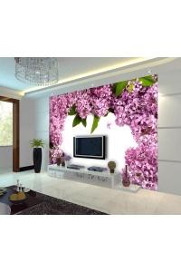 Tranh gạch 3D hoa H150