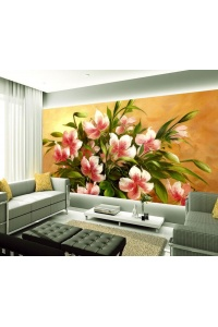 Tranh gạch 3D hoa H153