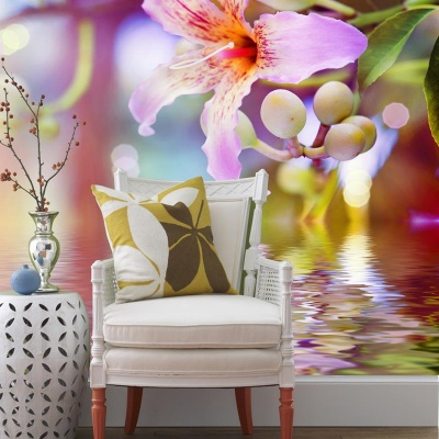 Tranh gạch 3D hoa H157