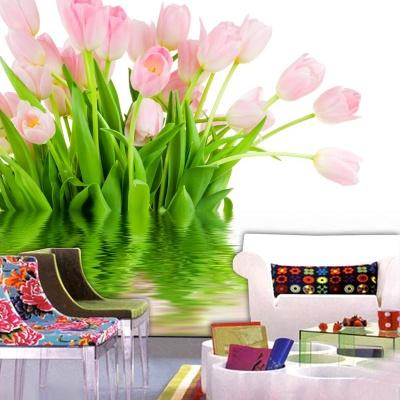 Tranh gạch 3D hoa H158