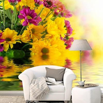 Tranh gạch 3D hoa H159