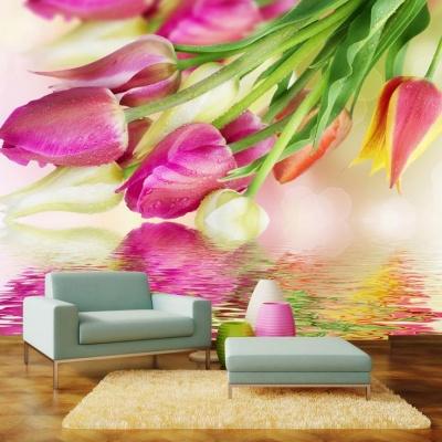Tranh gạch 3D hoa H163