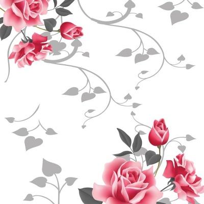 Tranh gạch 3D hoa H75