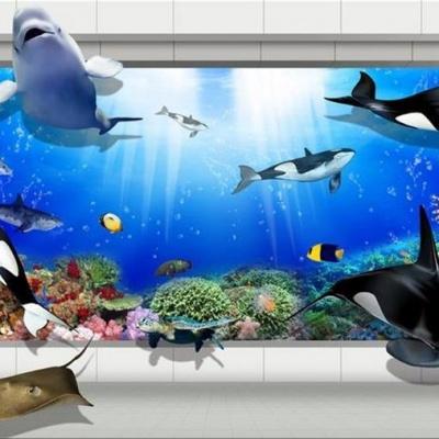 Tranh gạch 3D Đại dương