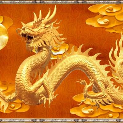 tranh gạch 3d rồng