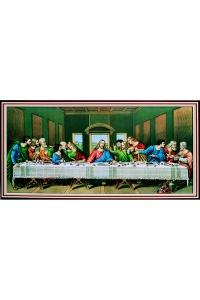 Tranh gạch 3D công giáo bữa tiệc chia ly