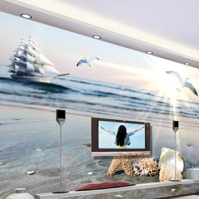 Tranh gạch 3D thuận buồm xuôi gió 35 - tranh gạch 3D phòng khách