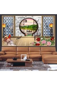 tranh phòng khách 0032T3D