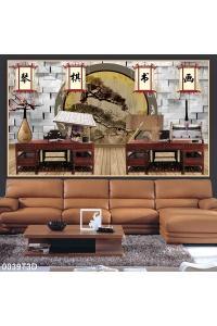 tranh phòng khách 0039T3D