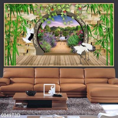 tranh phòng khách 0049T3D