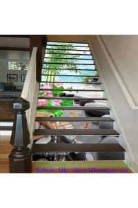 Tranh cầu thang 3D 13