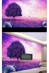 tranh gạch 3d phòng khách đẹp pk26
