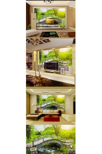 tranh gạch 3d phòng khách đẹp pk28