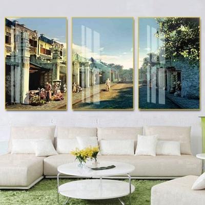 tranh treo tường đồng quê bộ 3 hn14